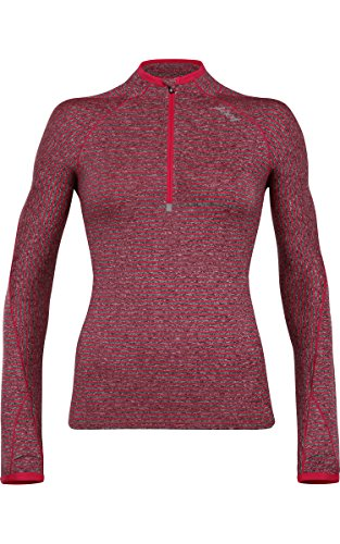 ZOOT SPORTS Women's Liquid Core 1/2 Zip Hoodie, X-Large, Punch