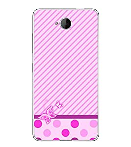 Fuson Purple Girly Butterfly Designer Back Case Cover for Microsoft Lumia 650 :: Microsoft Lumia 650 Dual SIM (Ethnic Pattern Patterns Floral Decorative Abstact Love Lovely Beauty)