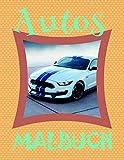 ✎ Autos Malbuch ✌: Einfaches Malbuch für Jungs von 4-10 Jahren! ✌ (Malbuch Autos - A SERIES OF COLORING BOOKS, Band 14)