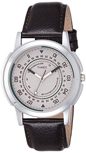 Timex Analog Off-White Dial Men's Watch-TW00ZR145
