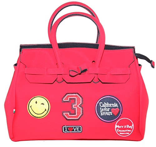 Matt e Desy collection , Sac à main pour femme Rouge rouge