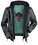 Suicide Squad The Joker Blouson en cuir noir