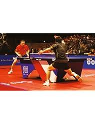 """Wettkampf-Tischtennisplatte """"Show-Court LAC"""" blau (274 x 152,5 x 76 cm, blau, individuell zu gestalten)"""