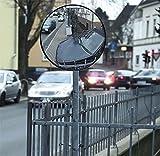 Westfalia Sicherheitsspiegel - sicher aus der Garage 36 cm