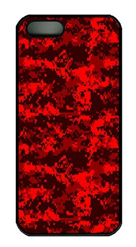 iphone-5s-cases-covers-red-digital-camo-hac1014426-custom-pc-hard-case-cover-for-iphone-5-5s-black