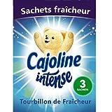 Cajoline Intense Sachet d'Armoire Tourbillon de Fraîcheur x3