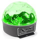 Beamz mini Star Disco Ball Schwarz–Zubehör (schwarz, LED, 6Lampe (S), 3W, Bernstein, Blau, Grün, Pink, Rot, Weiß, AC)