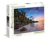 Clementoni 39337 - Puzzle Tropical Beach Hefele, 1000 Pezzi, Multicolore