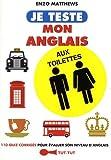 """Afficher """"Je teste mon anglais aux toilettes"""""""