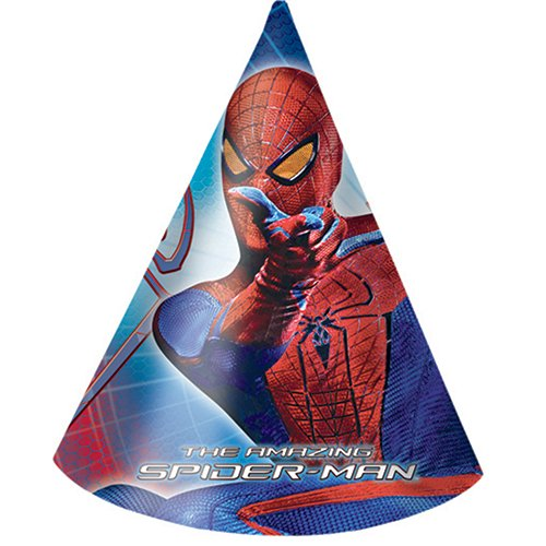 Exclusive Trade S.R.L. - 6 CAPS Spiderman AMAZING