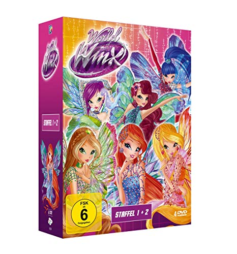 World Of Winx - Komplettbox [4 DVDs]