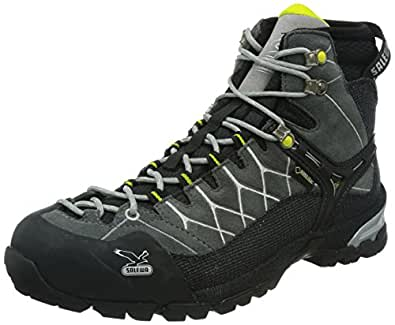 SALEWA M ALP TRAIN.MID GTX-PELL 00-0000063020, Chaussures de randonnée homme - Gris-TR-H2-27, 40.5 EU