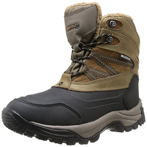 Hi-Tec Snow Peak 200 Wp - Stivali Uomo, Brown (Tan/Black), taglia 42