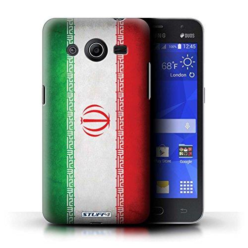 Kobalt® Imprimé Etui / Coque pour Samsung Galaxy Core 2 / Pays de Galles/gallois conception / Série Drapeau Iran