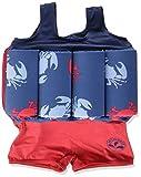 Archimède Bord de Mer, Maillot de Bain Bébé Garçon, Rouge (Rouge/Bleu Marine), FR: 2 Ans (Taille Fabricant: 2 Ans)