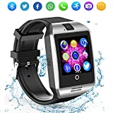 Best Relojes de pantalla táctil - ZRSJ Bluetooth reloj inteligente con cámara, reloj de Review
