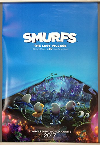 cinema-poster-smurfs-the-lost-village-2017-advance-one-sheet-michelle-rodriguez
