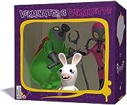 Ubiart Toys Rabbids Go Home Verminator 3 Figure Pack (Nintendo DS/Wii) [Importación inglesa]