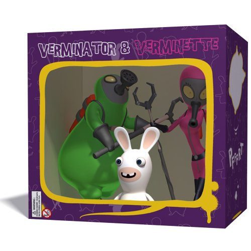 Ubiart Toys Rabbids Go Home Verminator 3 Figure Pack for sale  Delivered anywhere in UK
