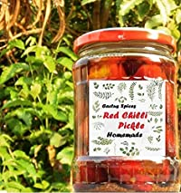 Cactus Homemade Red Chilli Pickle - 300gm