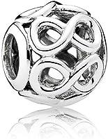 Pandora Women's Infinite Shine Charm - 925 Sterling Silver, 791872