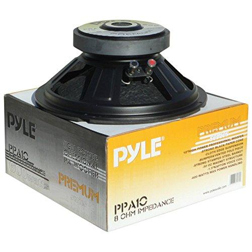 WOOFER DIFFUSER TIEFTON LAUTSPRECHER PYLE PPA10 PPA 10 VON 25,00 CM 250 MM 10