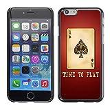 Graphic4You Póker cartas fichas Carcasa Funda Rigida para Apple iPhone 7 Plus