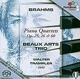 Brahms: Piano Quartets Op 25 26 & 60 (2013-05-03)