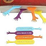 Marca páginas, 4 manos help me