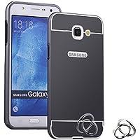 Coque Miroir Aluminium métal pour Samsung Galaxy A5 (2016) en Noir