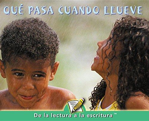 Que Pasa Cuando Llueve / When It Rains (Readers for Writers - Emergent) por Marcia Freeman