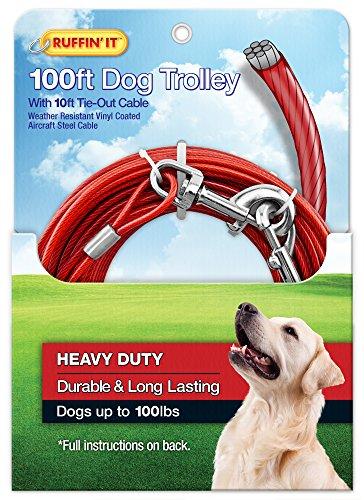 RUFFIN' IT Trolley mit 3 m Kabelbinder, 0,9 kg -