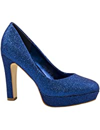 suchergebnis auf f r blaue high heels schuhe. Black Bedroom Furniture Sets. Home Design Ideas