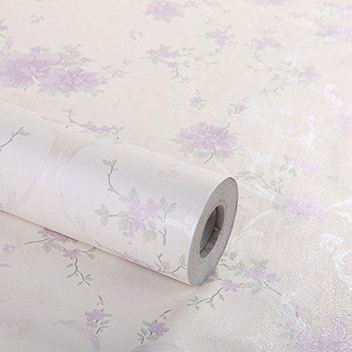 Zhzhco Selbstklebende Pvc-Tapeten Kleber Wasserdicht Schlafzimmer Wohnzimmer Wallpaper Wallpaper 45Cm*10M