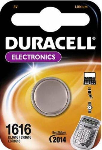 Duracell CR1616 - Pilas botón (Litio, 3 V)