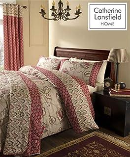 Catherine Lansfield Kashmir - Juego de Cama (algodón de 200 Hilos), Matrimonio (B00NIWD6O4)   Amazon Products