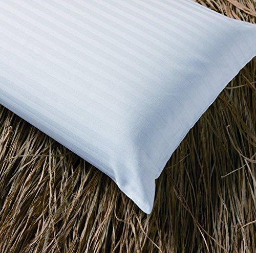 España Funda de Almohada con Cremallera, Medida 120cm, de Raso labrado, 100% algodón, Fabricada