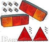 RMS N ° 2Scheinwerfer/Rücklicht + N ° 2Dreieck Wagen Anlage/Anhänger