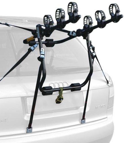 Peruzzo Portabici Posteriore per Auto modello CRUISER DELUX per 3 bici - ACCIAIO