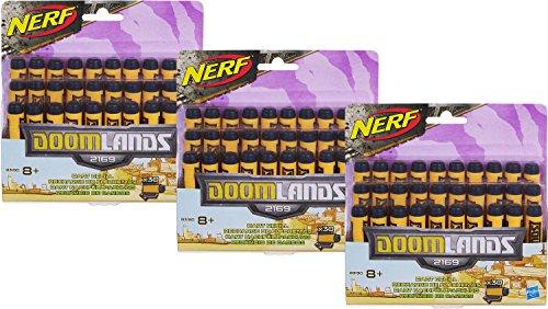 Nerf Doomlands 2169 Wasteland Ammo-Pack: 90 original Hasbro DoomLands (Larp Billig Kostüme)
