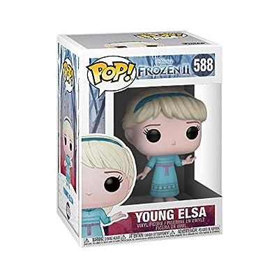Funko- Pop Disney: Frozen 2-Young Elsa Figura Coleccionable, Multicolor (40888) por Funko