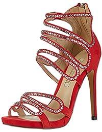 Buffalo Shoes Rk 1503-078-a Microfiber, Sandalias con Cuña para Mujer