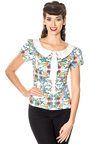 Dancing Days Mandala Top Girl-Shirt multicolor XL