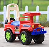 #5: GoodLuck Baybee Ride on Jeep Push Car for Boys and Girls, 1-2 Years (Red)