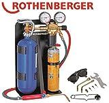 Autogenschweißgerät für Blechstärke Länge universal ROXY 400 0,1-2,5mm