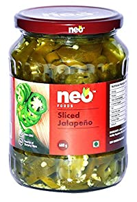 Neo Foods Sliced Jalapeno, 680 Grams - Pack of 12