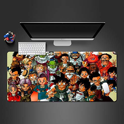 Mauspad Anime Boy Zeichen Big Set Mauspad Spiel Spieler Spiel Pad Laptop Tastatur Mauspad Schreibtisch Mats Jungen Halloween Weihnachtsgeschenk 900*400*3Mm