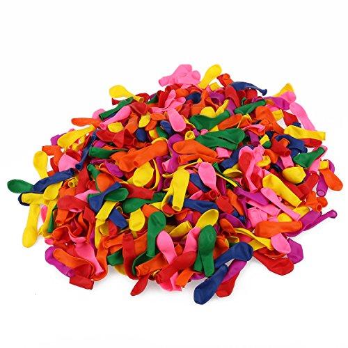 Preisvergleich Produktbild WINOMO Helle Farbe sortiert Latex Wasser Luftballons 500pcs (zufällige Farbe)