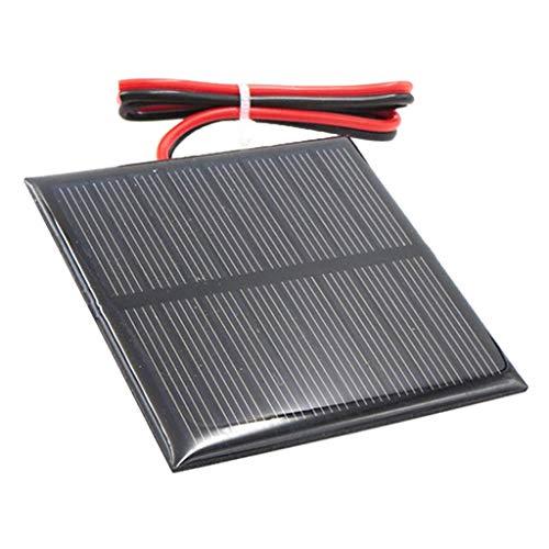 F Fityle Mini Solar Panel Solarpanel Sonnenkollektor Solarladegerät Solarzelle DIY - C 4V 70x70mm