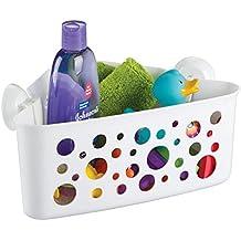 mdesign duschkorb zum hngen die ideale duschablage fr tolle schaumbder und sonstiges duschzubehr aus robustem - Duschablage Kunststoff